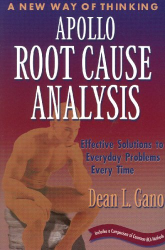Apollo Root Cause Analysis: New Way of Thinking Dean Gano