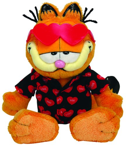 Valentines Day Beanie Baby - Ty Beanie Babies Happy Valentine's Day - Garfield Beanie Baby - Retired