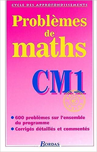 Livre gratuits Problèmes de maths, CM1 pdf