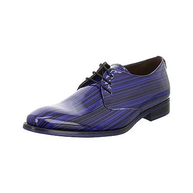 Floris van Bommel Business Schnürer Blau: : Schuhe