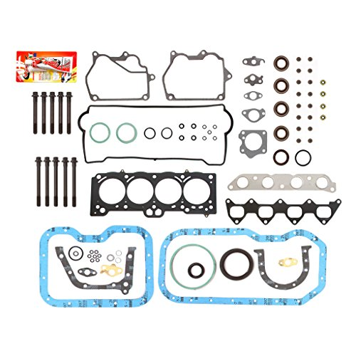 - Fits 93-97 Geo Prizm Toyota Corolla Celica 1.8L DOHC 7AFE Full Gasket Set Head Bolts