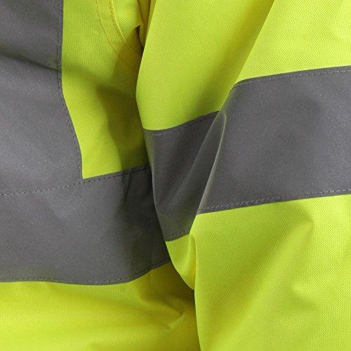 Baratec Herren Hi-Vis Bomber Jacket–gelb, xxxx-large
