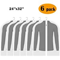 Adalite Garment Bag, Garment Cover Bag Lightweight for Closet Storage and Travel Zippered Breathable…