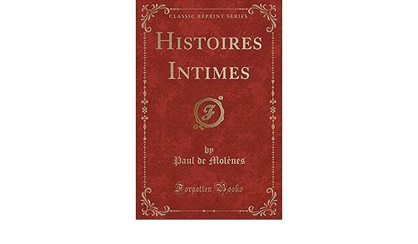 Histoires Intimes
