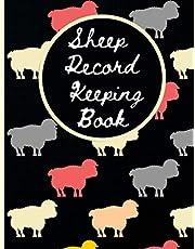 Sheep Record Keeping Book: lambing Journal Organizer, Record Keeping Tracker for Breeding, Farm Management Health Tracker, vaccination record book, Health & Sheep Death log book.(9)