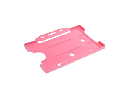 ID Card IT - Funda para tarjeta identificativa, color rosa ...