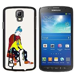 Caucho caso de Shell duro de la cubierta de accesorios de protección BY RAYDREAMMM - Samsung Galaxy S4 Active i9295 - Pierde