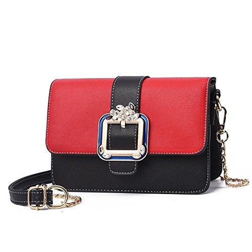 Capacité Sac rouge Femmes et Grande ZHANGJIA Sac Taobao Femmes Sac Pure noir Color De Les q1nw0t7