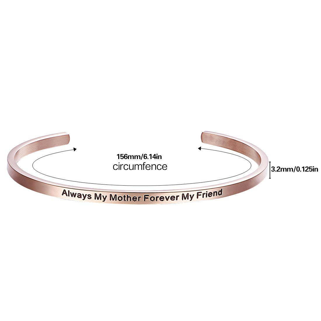 FANCYCD The Future Belongs to Those Who Believe in The Beauty of Their Dreams Adjustable Cuff Bracelet Wristband Bangle