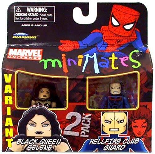 Marvel Minimates 34  Variant schwarz Queen Selene & Hellfire Club Guard B003EUT536 Figuren Zubehör Schönes Aussehen | Stil