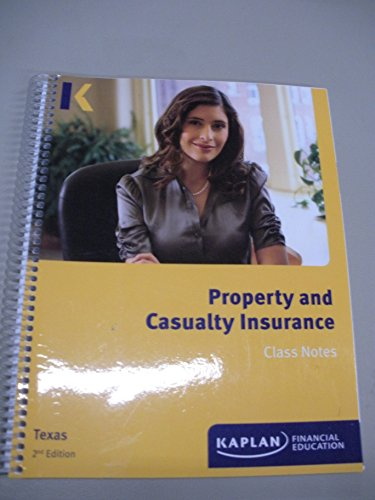 Download Property and Casualty Insurance Class Notes Texas 2nd Edition Pdf