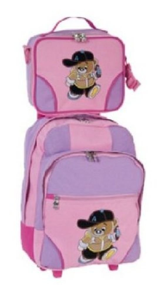 Stefano Trolley Set pink