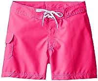 Kanu Surf Little Girls' Sassy Boardshorts, Neon Pink, X-Large (6X)