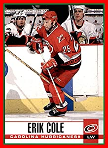 2003-04 Pacific #60 Erik Cole CAROLINA HURRICANES