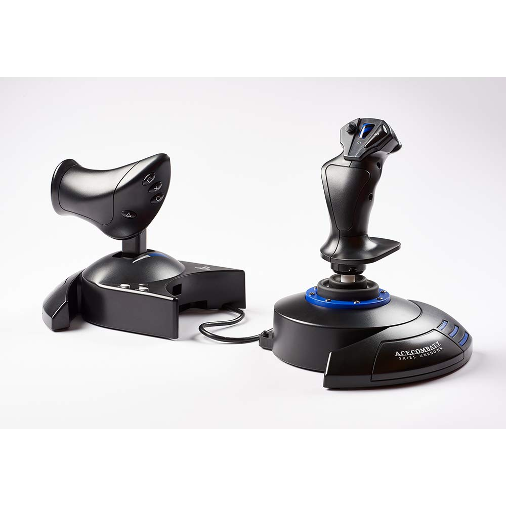 Amazon Com Thrustmaster T Flight Hotas 4 Us Can Lat Ace Combat 7 Edition Ps4 Xbox Series X S One Pc Video Games