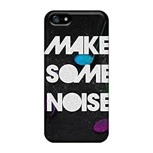 New Style AnnetteL Hard Case Cover For Iphone 5/5s- Make Some Noise