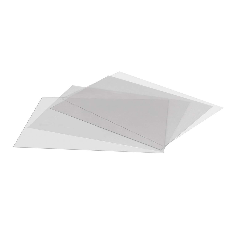 DISPLAY SALES Antireflex Schutzfolie DIN A1 2 St/ück 0,4 mm dick Ersatzfolie Kundenstopper Klapprahmen