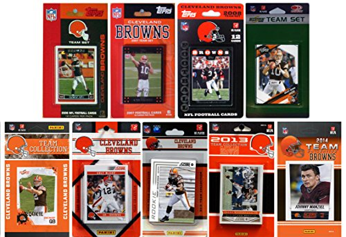 C&I Collectables NFL Cleveland Browns Licensed Trading Card Team Set from C&I Collectables