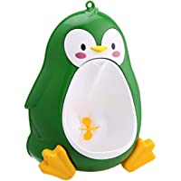 Cartoon Cute Penguin Potty Urinal Toilet Standing Urinal Bathroom Children Pee Trainer for 8 Month to 6 Years Old Boys