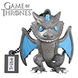 Tribe FD032507, Game of Thrones Viserion, 16GB USB Flash Drive 2.0 Memory Stick Keychain