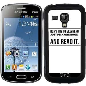 Funda para Samsung Galaxy S Duos S7562 - Lee Un Libro by wamdesign