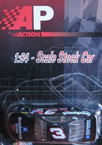 NASCAR 2001 Dale Earnhardt Sr #3 Last Paint Scheme Car GM Goodwrench Service Plus 2001 Monte Carlo 1/64 Scale Diecast Limited Edition Action Racing Collectables