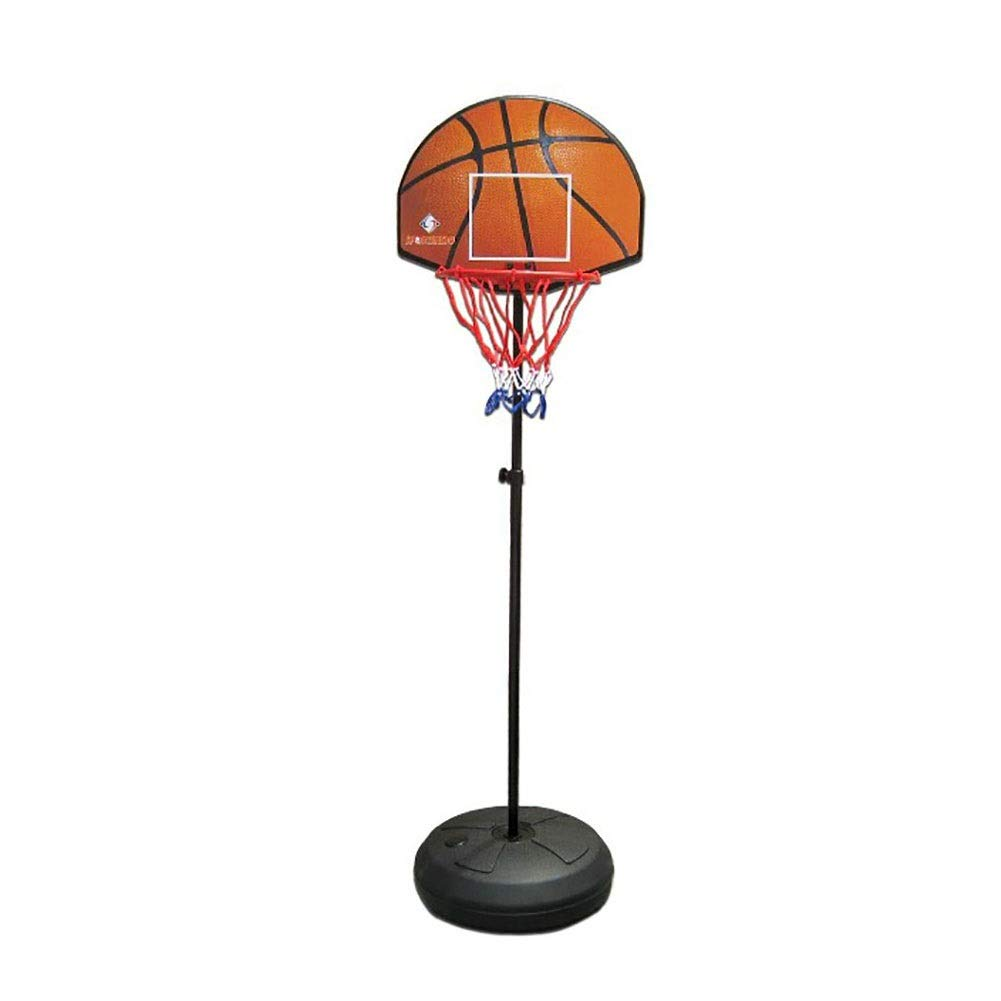 Portable Mini Basketball Hoop System Stand, Adjustable Toy Set for Toddler Kids, Indoor Outdoor Dual-use Backboard Net Goal