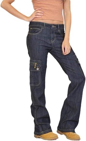 chenshiba-JP 女性ファッションズボンパンツファッションカーゴジッパーコンバットカーゴパンツジーンズ