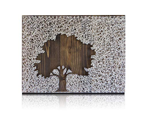 String Art Kit - Tree String Art, Adult Crafts Kit, Arts and...