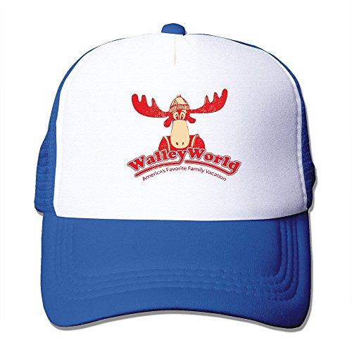 Wally World Hat (Walley World 100% Nylon Adult Baseball Cap Mesh Hat)
