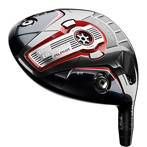Callaway Men's Big Bertha Alpha 815 Driver, Left Hand, Graphite, Regular, 12-Degree