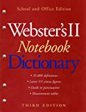 Webster's II Notebook Dictionary, , 0618611827