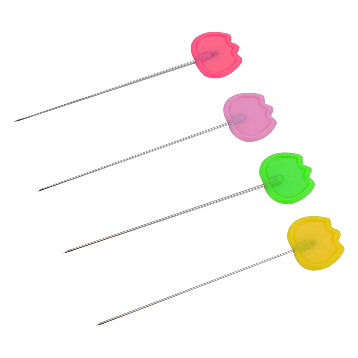 TECH-P 2 Multi-color Dressmaking Straight Pins Head Pins For Sewing DIY Arts/&Crafts Projects-200 Pack Panda Head