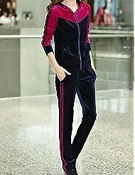 VU*LK Women's Vintage Casual Cute Medium Short Sleeve Regular Hoodies , fuchsia , xl