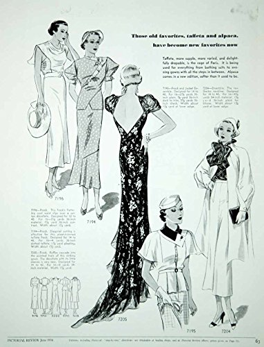 fashion 1934 dress - 4