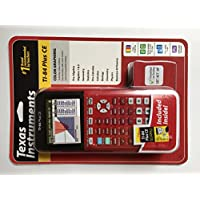TEXAS INSTRUMENTS TI-84 PLUS CE DUMMIES INCLUDED, RED