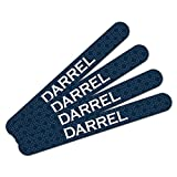 Double-Sided Nail File Emery Board Set 4 Pack I Love Heart Names Male D Dace - Darrel