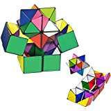 TheMax® Kids Magic Star Infinite 3D Cube Game Puzzle Twist Toy Party Travel Child Creative Decompression Magic Box Puzzle Gift