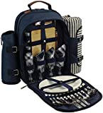 Picnic Backpack for 4 | Picnic Basket | Stylish