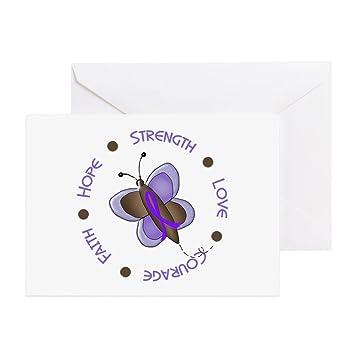 Amazon cafepress hope courage butterfly 2 ec greeting cards cafepress hope courage butterfly 2 ec greeting cards pk of greeting card m4hsunfo