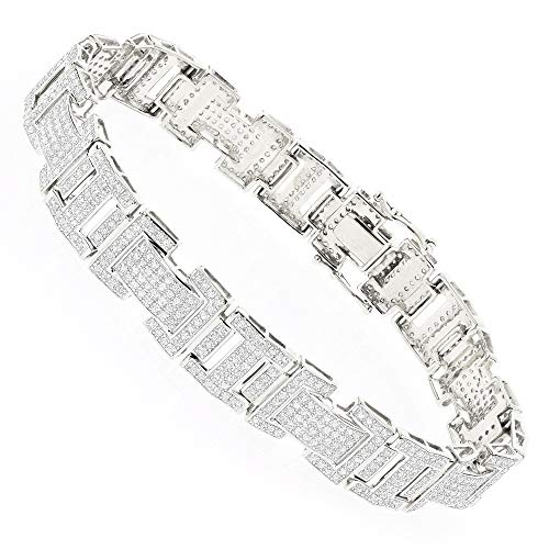 Diamond Bracelet in 10K Gold 3.2ctw (White ()