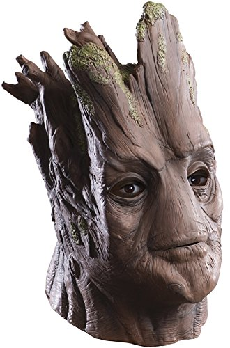Rubie's Costume Men's Guardians Of The Galaxy Deluxe Adult Overhead Groot Mask, Multi, One Size