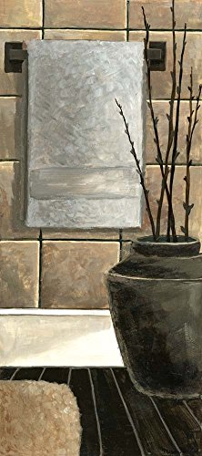 - Modern Bath Panel II by Megan Meagher Art Print, 13 x 30 inches