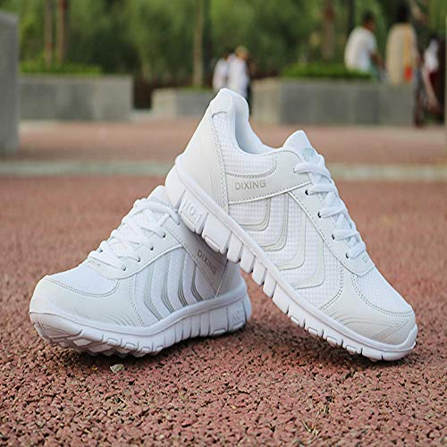 Safety Soft Fashion LHWY Breathable Fitness Running Shoes Walk Lightweight New Sneakers Sports White Women Gym Outdoor PxUT6