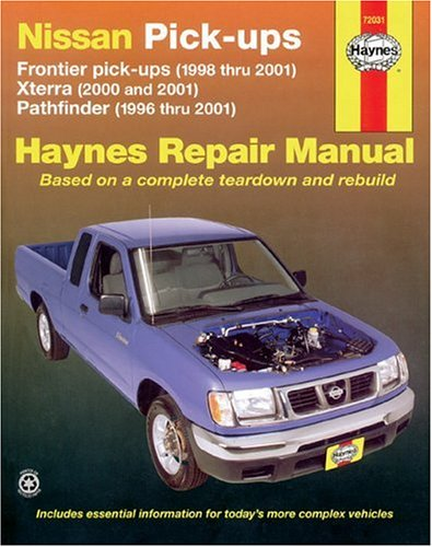 2001 nissan frontier xe owners manual