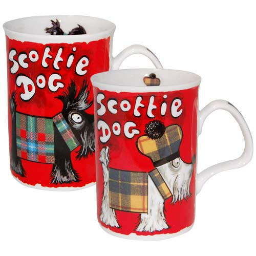 Scottie Dog Mug Roy Kirkham Fine Bone ()