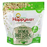 Happy Family - Happy Baby Organic Clearly Crafted Baby Cereal Oatmeal with Iron - 7 oz.