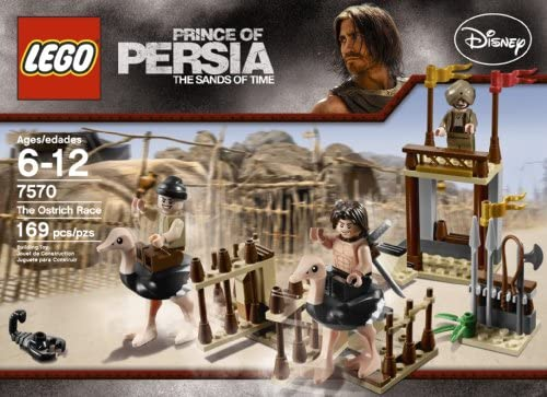Ostrich Minifigure from 7570 NEW Lego Prince of Persia The Ostrich Race Animal
