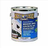 Masonry & Stucco Paint, Light Gray, 1 gal.