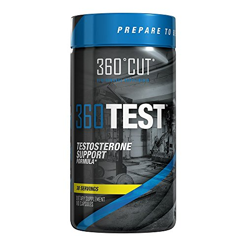 360TEST - Natural Male Performance Formula Promotes Healthy Testosterone Production For Maximum Performance